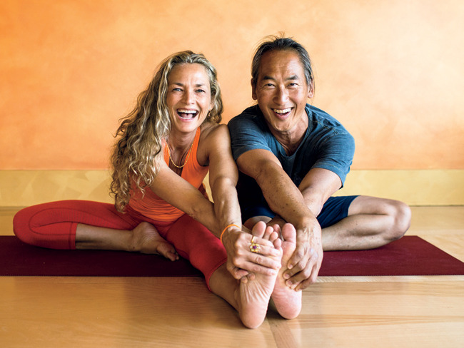 Colleen Saidman and Rodney Yee